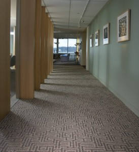 Carpet made with Zeftron nylon at Bar Architects in San Francisco