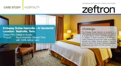 Zeftron Nylon Embassy Suites Nashville