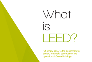 Zeftron's goals are aligned with LEED