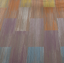 J+J Flooring Group's F-Stop product brings a splash of color to any interior.
